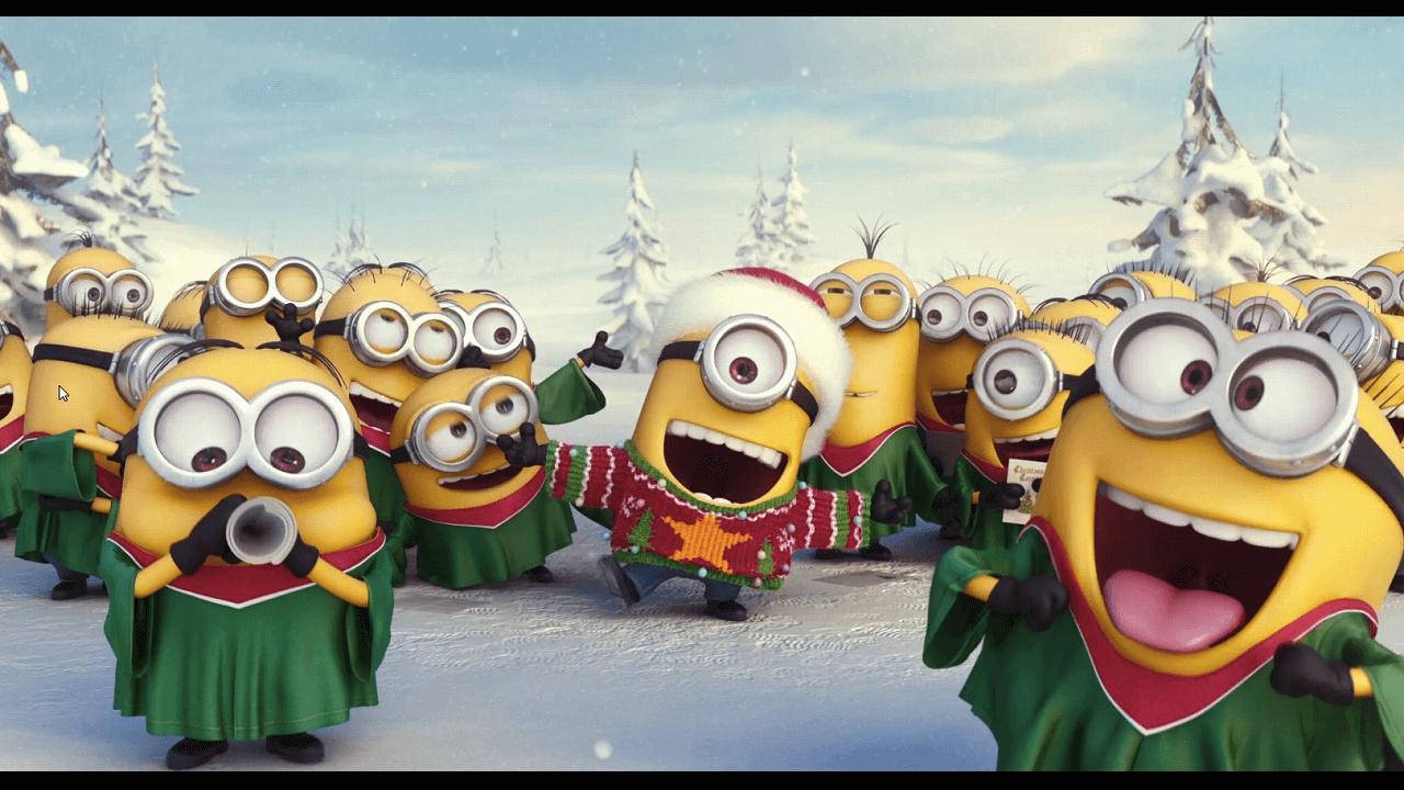 『ミニオンズ(原題)』超キュートなミニオンのクリスマスグリーティング映像が到着!