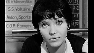 1960年代のフランス女優、アンナ・カリーナのヘアファッションが可愛い