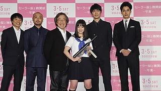 橋本環奈17歳誕生日のお祝いに思わず「カ・ン・ゲ・キ」『セーラー服と機関銃 -卒業-』完成披露試写会