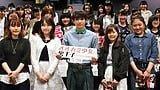 吉沢亮からキラキラがこぼれている!映画『オオカミ少女と黒王子』トークショーレポート