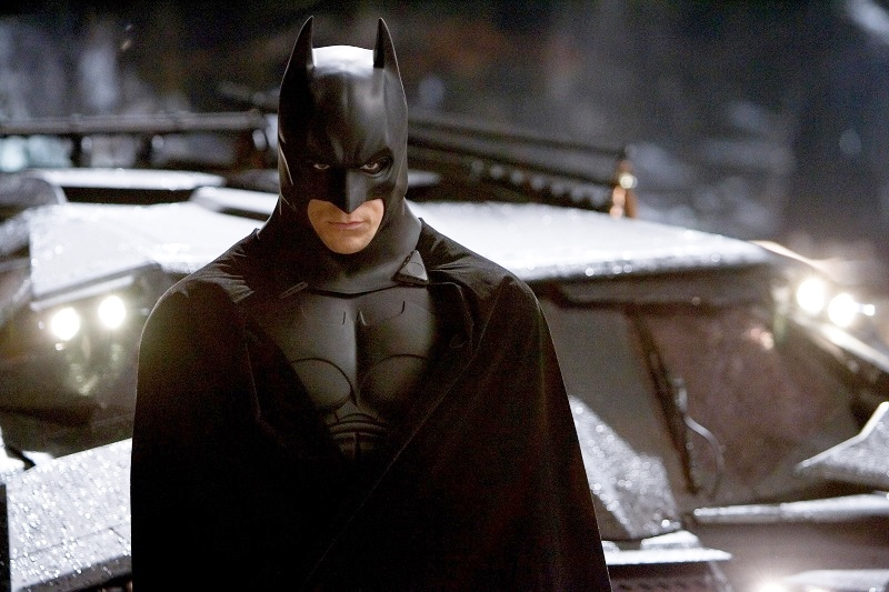 "CHRISTIAN BALE as Batman in Warner Bros. Pictures' ""Batman Begins."" PHOTOGRAPHS TO BE USED SOLELY FOR ADVERTISING, PROMOTION, PUBLICITY OR REVIEWS OF THIS SPECIFIC MOTION PICTURE AND TO REMAIN THE PROPERTY OF THE STUDIO. NOT FOR SALE OR REDISTRIBUTION."