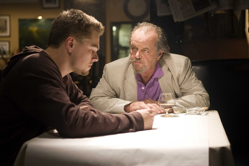 """Undercover cop Billy Costigan (LEONARDO DiCAPRIO) infiltrates the Irish mob led by Costello (JACK NICHOLSON) in Warner Bros. Pictures' crime drama """"The Departed."""" PHOTOGRAPHS TO BE USED SOLELY FOR ADVERTISING, PROMOTION, PUBLICITY OR REVIEWS OF THIS SPECIFIC MOTION PICTURE AND TO REMAIN THE PROPERTY OF THE STUDIO. NOT FOR SALE OR REDISTRIBUTION."""