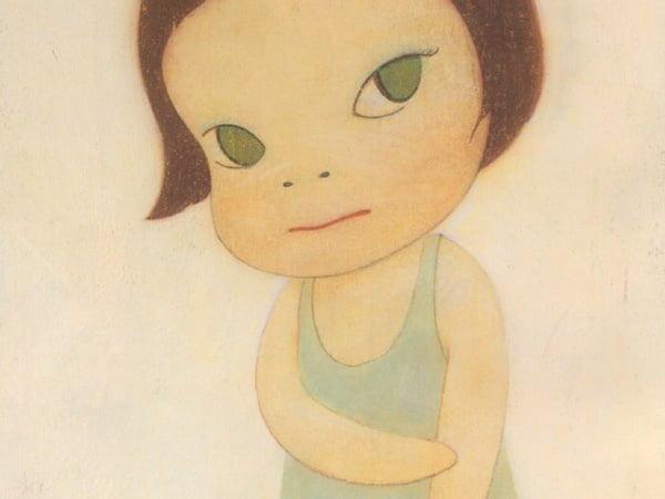 嵐大野くんとのコラボも芸術家奈良美智さんの代表作品 Cinemagene