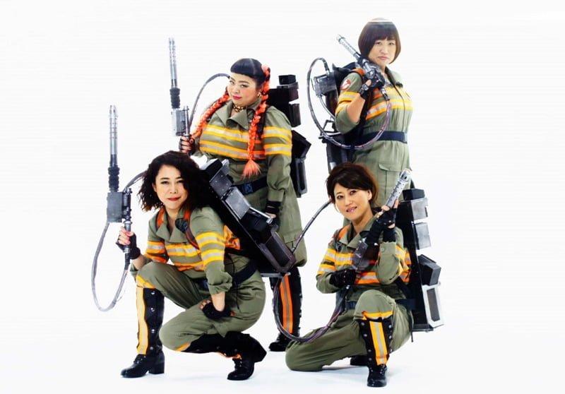 幽霊会社「ゴーストバスターズ・ジャパン」の4人