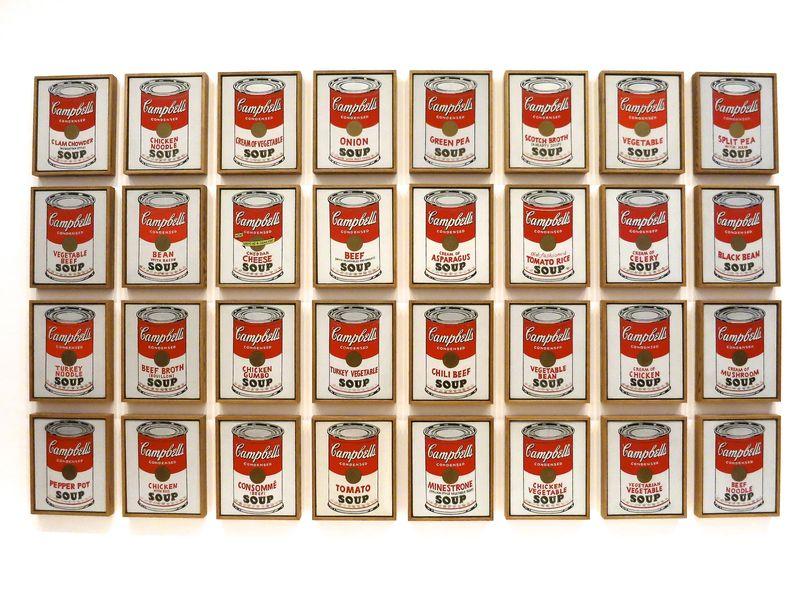 キャンベルのスープ缶