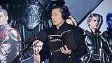 神輿で登場!松平健、将軍から神になる!『X-MEN:アポカリプス』アフレコイベント!