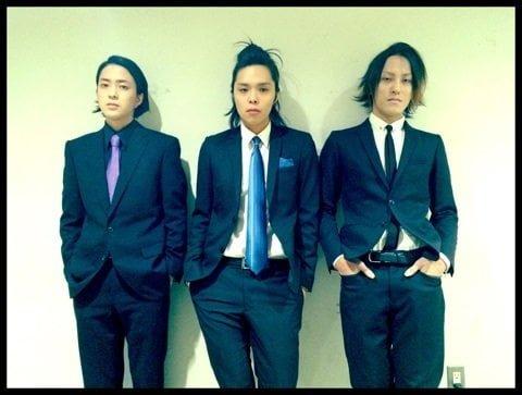 左から、三男・竜也、次男・市之丞、長男・紫