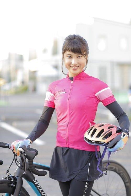 自転車練習時の太鳳ちゃん