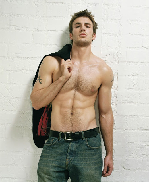 Chris-Evans-Body