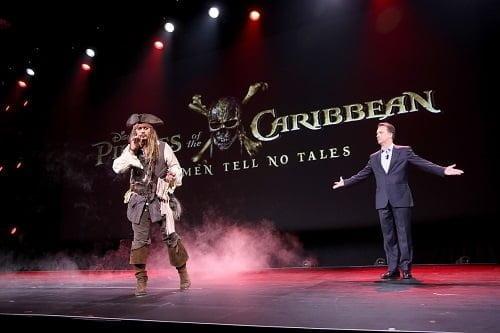 """""""ジャック・スパロウ""""が帰ってきた!ディズニー最新作『パイレーツ・オブ・カリビアン/最後の海賊』日本公開&邦題決定!"""