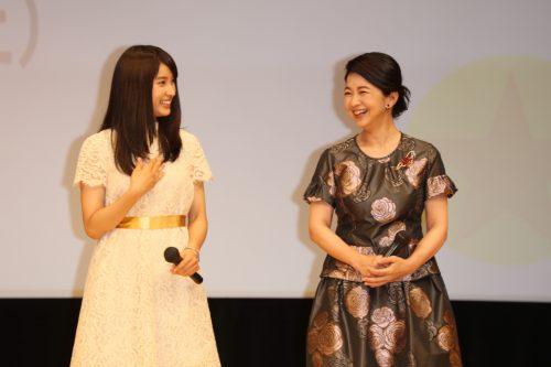 (左から)土屋太鳳ちゃん、宮崎美子さん