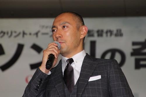 映画の来日イベント参加は初めての市川海老蔵さん