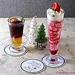 「PEANUTS」の仲間たちがひらくパーティをイメージ!?PEANUTS Cafeがクリスマス限定メニューを開始