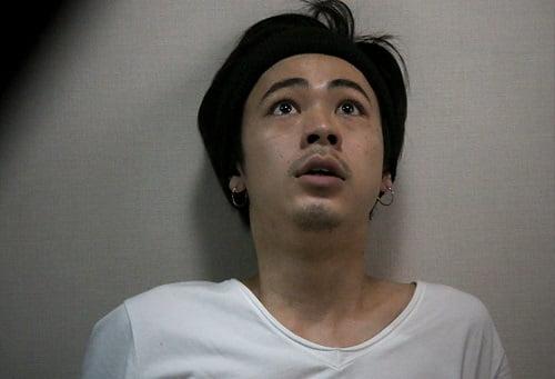 成田くんの恐怖の表情!