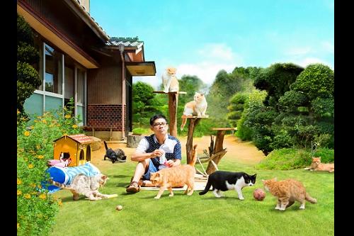 【プレゼント】主演:伊藤淳史&スター猫たちが続々登壇!『ねこあつめの家』完成披露試写会に【10組20名様】ご招待!