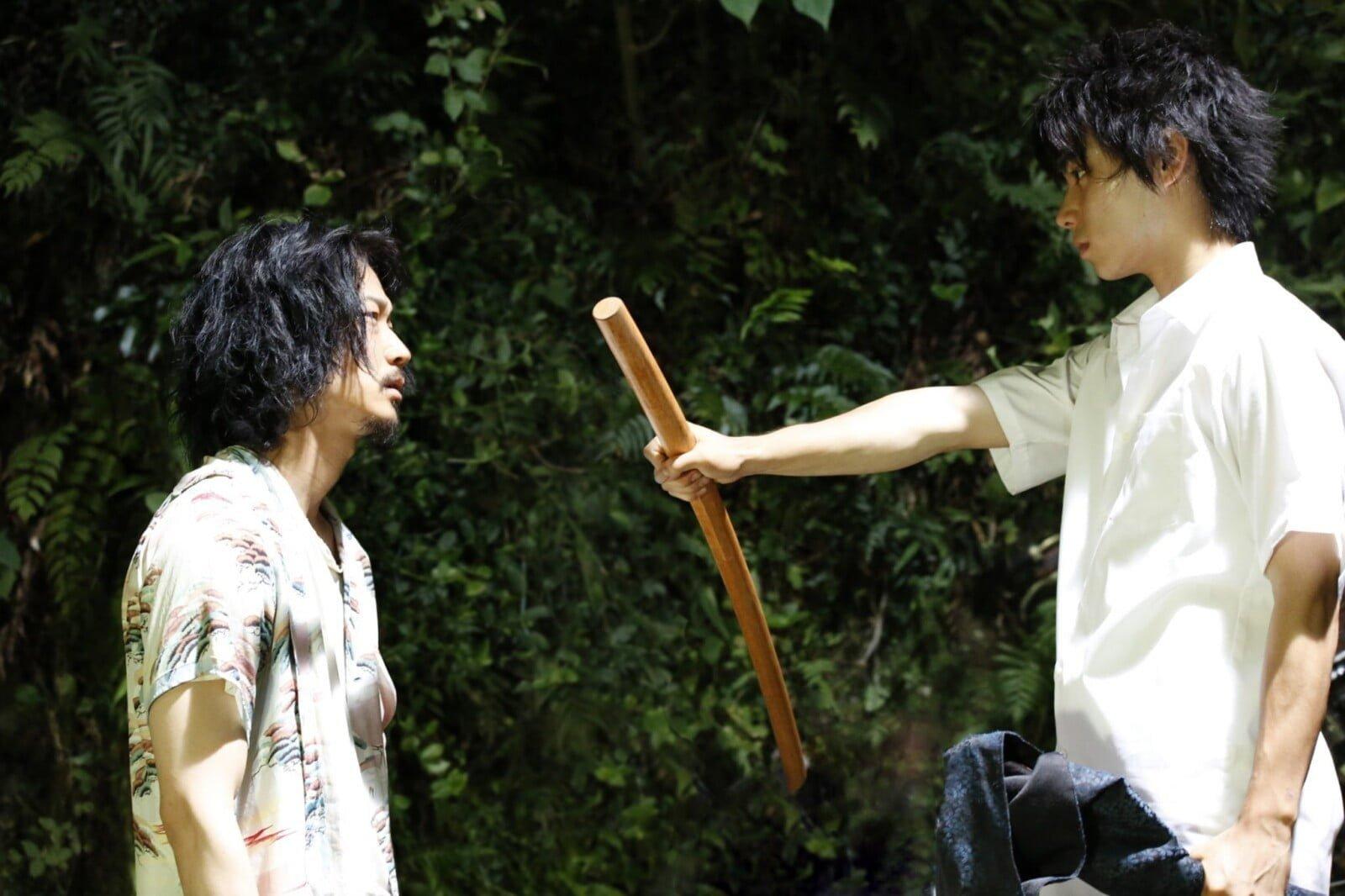 綾野剛はまるでアスリート!?村上虹郎が語るライバルとは?映画『武曲 MUKOKU』完成披露試写会