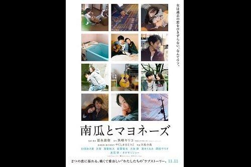 人気写真家・川島小鳥が写真を担当!映画『南瓜とマヨネーズ』ティザービジュアル&特報映像解禁!