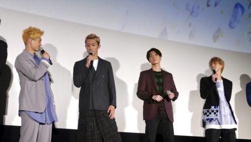 とにかくわちゃわちゃ&にぎやかで楽しいお披露目会に!映画『ラスト・ホールド!』完成披露試写会!