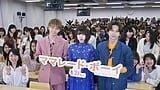 桜井×吉沢×佐藤のファンサービスに終始悲鳴の嵐!映画『ママレード・ボーイ』公開直前!女子大イベント♡