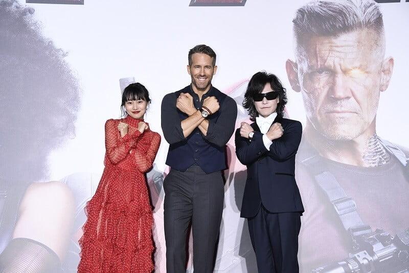 ライアン・レイノルズ、神対応でファンを魅了♡♡映画『デッドプール2』来日スペシャルイベントレポート