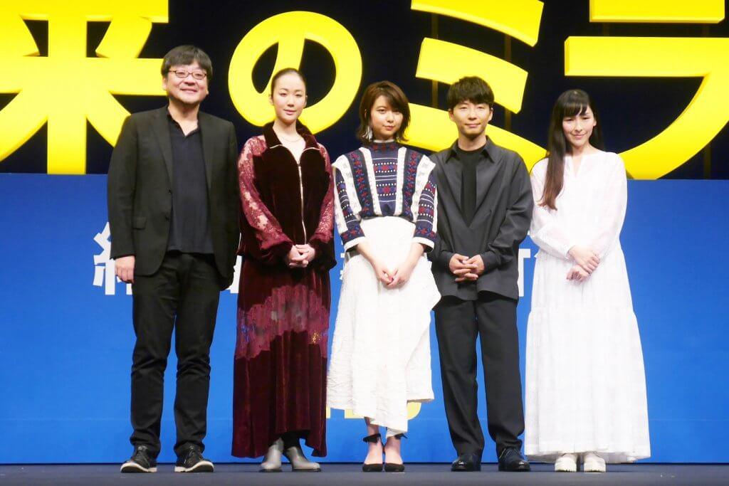 一同大絶賛の映画がついに日本で初お披露目!監督が語るキャスト陣の魅力とは?映画『未来のミライ』ジャパンプレミア
