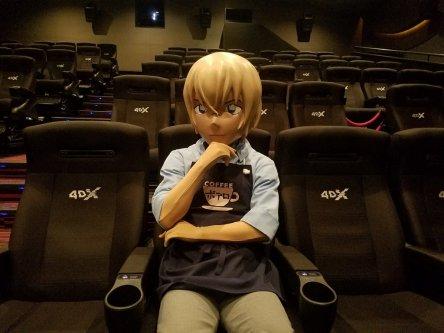 4DX体験で安室さんがめちゃくちゃ揺れてる写真も!劇場版『名探偵コナン ゼロの執行人』期間限定4DX上映が10月19日スタート