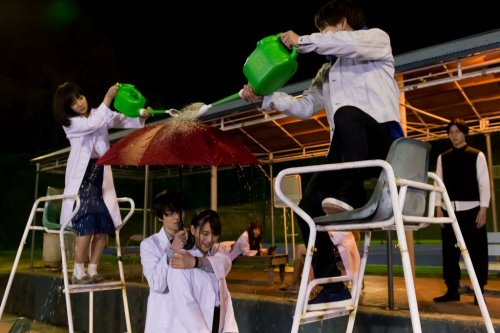 ただいま恋の実験中♡映画『リケ恋~理系が恋に落ちたので証明してみた。~』ポスタービジュアル&場面写真解禁
