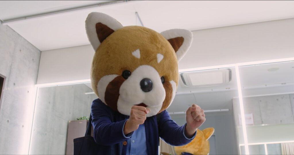 """""""レッサーパンダお亮""""に応援されたい♡映画『あのコの、トリコ。』着ぐるみ姿で全力応援!な本編映像解禁!"""