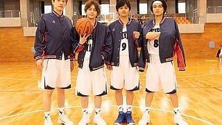 『春待つ僕ら』バスケ部男子4名