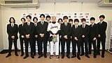 映画『PRINCE OF LEGEND』関口メンディーを13人の王子が応援!読売ジャイアンツ×マリナーズ戦始球式レポート