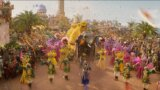 ジーニーの中の人こと山ちゃんが高らかに歌い上げる!映画『アラジン』ド派手なパレードシーン解禁!