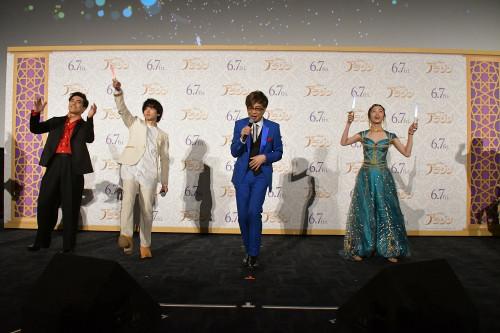 豪華な生歌で会場にハッピー充満!映画『アラジン』スペシャル・ナイトイベントレポート