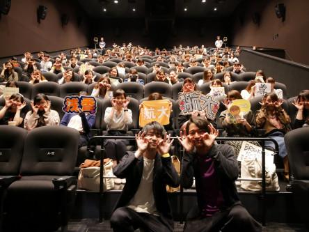 公開から4週目もまだまだ熱く盛り上げる!映画『チア男子!!』熱烈応援御礼舞台挨拶レポート