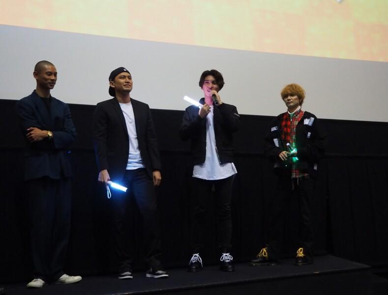 """映画『HiGH&LOW THE WORST』、""""大ヒット御礼!応援上映スペシャル""""イベントレポート!"""