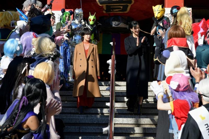 高畑充希&菜々緒がヲタ恋大ヒット祈願♡コスプレの聖地・名古屋での決起会イベントレポート