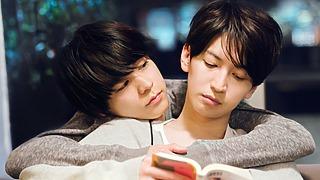 大倉忠義と成田凌が屋上で大はしゃぎ!映画『窮鼠はチーズの夢を見る』 監督発案〇〇ゲームにキャストは素で楽しんだ⁉