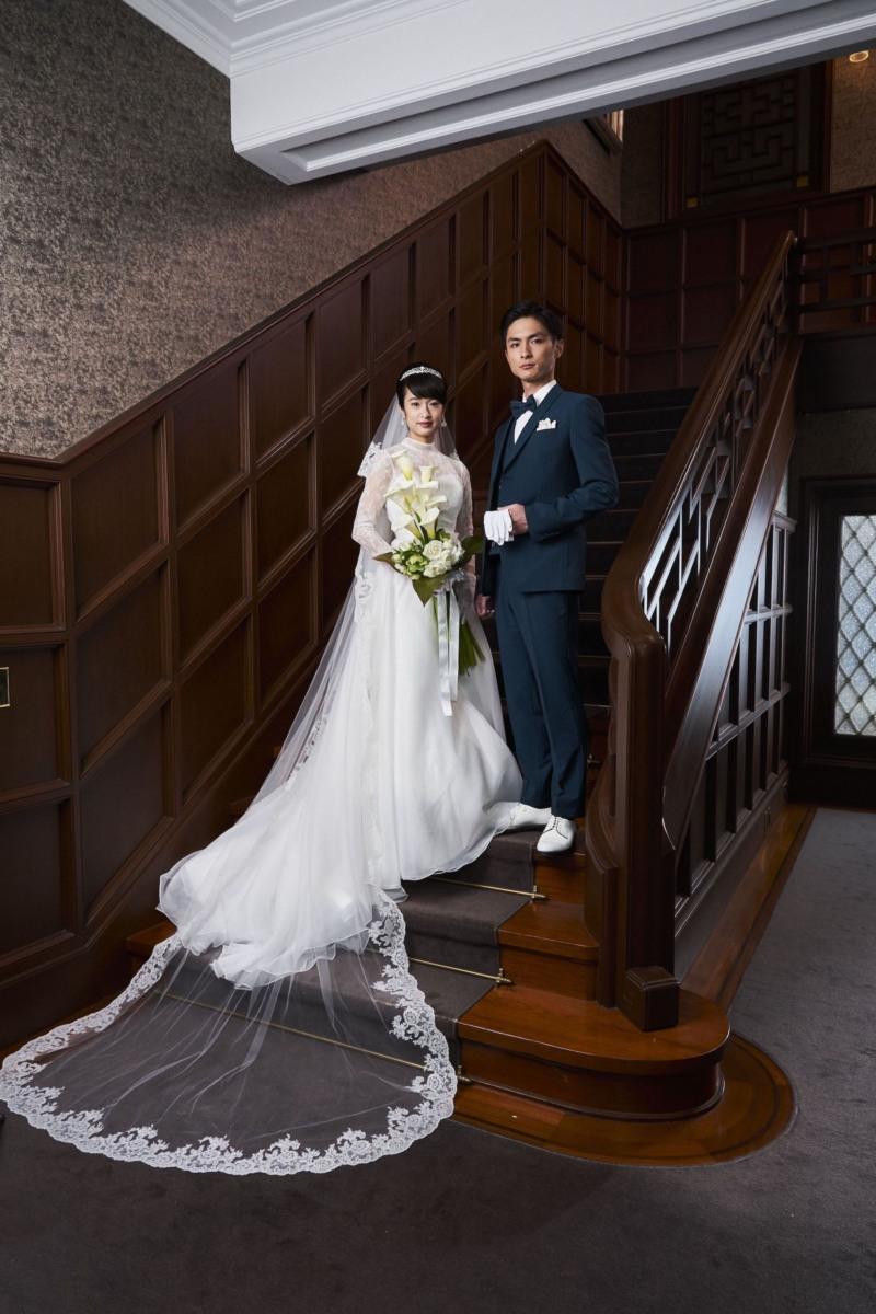 映画『あのこは貴族』門脇麦、美麗なウエディングドレス姿を披露!夫・高良健吾と気品あふれる夫婦役に 結婚式に集まる親族一同を捉えた本編シーンも解禁!