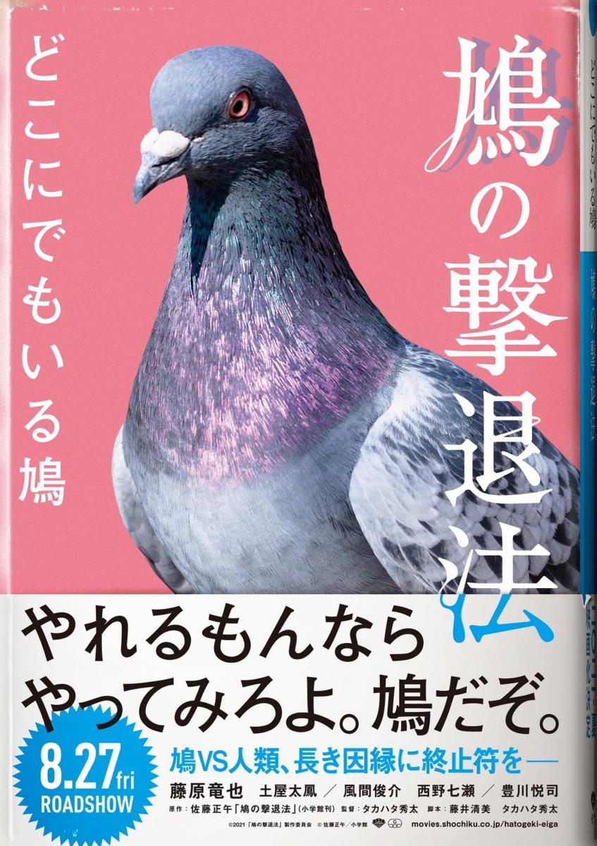 鳩か人間か。ベランダの支配者はどっちだ。映画『鳩の撃退法』これが本当の鳩の撃退法!?鳩VS人類の長き因縁に終止符をー。エイプリルフール限定フェイクビジュアル解禁!