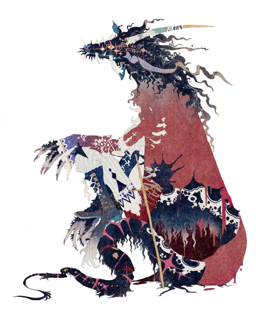 秋屋蜻一氏デザインの「竜」