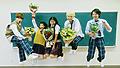 はじけるジャンプと笑顔もしゅわきゅん全開♡ 映画『ハニーレモンソーダ』エモさ溢れる<クランクアップ写真>解禁︕