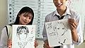 """映画『ハニーレモンソーダ』原作者・村田先生直筆イラスト色紙にラウール&吉川愛大興奮!二人の熱演を「画面から一瞬も目を離せません」と先生も大絶賛!さらに!高杉真宙、ニッチェ、新妻聖子ら漫画好き著名人から""""テンアゲ""""コメントも到着♡"""