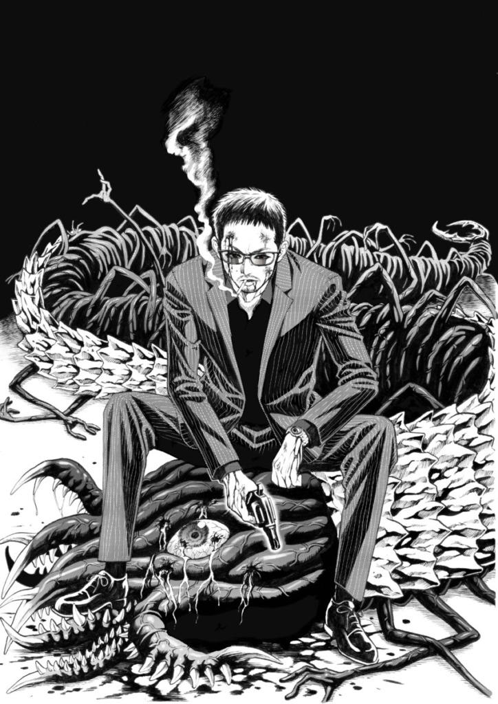 映画『孤狼の血 LEVEL2』漫画コラボ第3弾!&アニメコラボ!圧巻のコラボイラスト4作品が解禁!