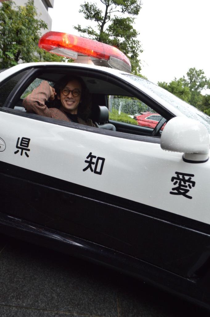 愛知県警察本部にて「一日広報課長」に就任!映画『孤狼の血 LEVEL2』滝藤賢一愛知県凱旋キャンペーン